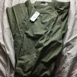Pendleton Pleated Front Khakis Chinos Casual Dress